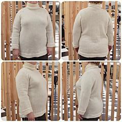 белый-свитер-готов-квадрат (Horosho.Gromko.) Tags: sweater jumper pullover knitting