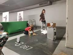 20181005_181645 (dou_ble_you) Tags: threeimprovisedsculpturaldevices doubleyou installation foundmaterials interaction