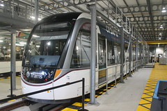 Edinburgh Trams: 260 Gogar Tram Depot (emdjt42) Tags: 260 edinburghtrams tram edinburgh caf urbos