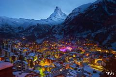 Zermatt - Matterhorn (Walk - See - Stop - Photograph!) Tags: sony a7 switzerland lanscape zermatt snow mountain city town matterhorn zeiss 1635