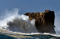 3402LFR (Rafael González de Riancho (Lunada) / Rafa Rianch) Tags: olas waves ocean oceano sea mar water rocas gaviota birds