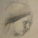 DEGAS Edgar,1860-62 - Sémiramis construisant Babylone, Etude (Louvre RF15525) - Detail 5