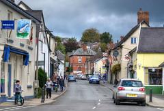 Church Street, Bishop's Castle, Shropshire (Baz Richardson (now away until 26 Oct)) Tags: shropshire bishopscastle markettowns streetscenes