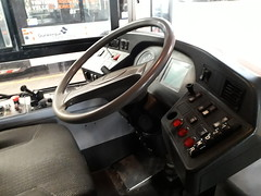Poste de conduite Irisbus Agora S GNV n°435 (alexandrebertrand60) Tags: bus dépôt stde dkbus dunkerque agora s gnv l renault irisbus