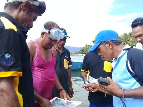 Pelatihan monitoring lamun Kabola 16