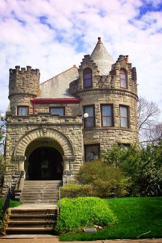 Toledo Ohio ~ Old West End ~ HENAHAN-BYERMANN HOUSE - Architecture Romanesque