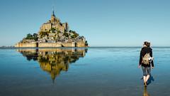 Mont-Saint-Michel (EriccpSam) Tags: normandy france montsaintmichel xt2 fujiflim castle