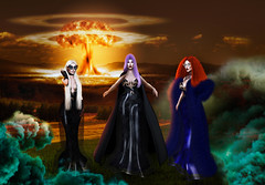 Find our Sisters . (Venus Germanotta) Tags: secondlife fashion fierce sickening witch witches witchcraft apocalypse americanhorrorstory ahs horror magic nuclear nuke war nuclearwar endoftheworld endtimes survive supreme thesupreme coven myrtlesnow popculture sisterhood blackmagic occult power powerful chaos destruction earth landscape destroy death photoshop graphicdesign design edit lighting perspective photography epic scene television iconic look stunning spell bitchcraft halloween hallowseve october smoke gas radiation vibrant colour hautecouture avantgarde aiitheuglyandbeautiful salem events famous celebrity vogue fantasy fantasea aesthetic battle antichrist demonic warlocks wiccan fiction