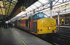 37415 Crewe Scan (Waddo's World of Railways) Tags: 37 374 415 37415 crewe class37 crewestation tractor grolwer syphon train rail railway eh eth