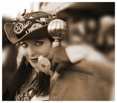 OKIMG_6382 (taymtaym) Tags: comics steampunk steam punk steampunkitalia cosplayer cosplayers costumes romics 2018 cosplay fall autunno costume costumi girl lady cowgirl