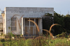 Togo's old National Assembly (baptvic) Tags: national assembly togo lome deserted