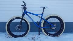 Christini AWD polar bike, Mark III