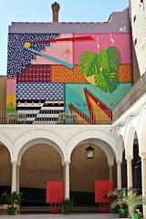 Facultad de Bellas Artes - Universidad de Sevilla (just.Luc) Tags: streetart urbanart graffiti grafitti building gebouw gebäude bâtiment colors couleurs kleuren farben colours spain spanje espagne españa spanien andalusië andalucía andalusien andalousie andalusia sevilla seville séville siviglia europa europe