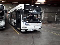 Renault/Irisbus Agora S GNV n°429 (alexandrebertrand60) Tags: bus dépôt stde dkbus dunkerque agora s gnv l renault irisbus