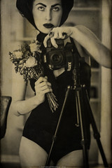 │à la Vivian Maier project│ (RapidHeartMovement) Tags: self selfportrait portrait monochrome mirrored mirrorreflection reflected selfwcamera àlavivianmaier rapidheartmovement
