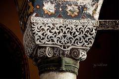 Capitel bizantino I (osolev) Tags: capitel arquitectura bizantina bizantine capitol constantinopla constantinople santasofia ayasofya hagiasophia estambul istanbul turkiye turkey turquie turquia europe europa ornamentacion decoracion motivos trepano