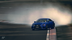 Lexus RC F (Matze H.) Tags: lexus rcf gt sport gran turismo drift race track ingame screenshot rendered toyota monza smoke playstation 4 pro uhd hdr 4k wallpaper