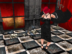 Crow Bar Holloween (Tevor Z) Tags: crowbar secondlife bar pub holloween costumes zombies vampires