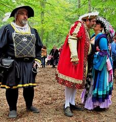 Maryland Renaissance Festival, 2018 (A CASUAL PHOTGRAPHER) Tags: marylandrenaissancefestival mdrf renaissancereenactors kinghenryviii royalty costumes frednelson