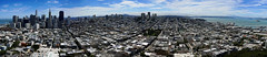 city pano (rovingmagpie) Tags: california sanfrancisco coittower elevated panorama tower pano hdr summer2018 cityscape city