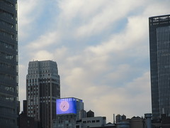 IMG_2847 (Brechtbug) Tags: 2018 october clouds virtual clock tower from hells kitchen clinton near times square broadway nyc 10152018 new york city midtown manhattan spring springtime weather building dark low hanging cloud hell s nemo southern view ny1rain