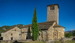 LARREDE Iglesia de San Pedro (dnieper) Tags: lárrede sanpedro elserrablo huesca aragón spain españa panorámica románico