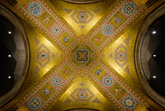 That all men may know his work (dtstuff9) Tags: toronto ontario canada rom royal musuem ceiling mosaic that all men may know his work architecture