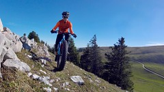 Fat-Bikes Love Mountain Ridges (29in.CH) Tags: fall autumn fatbike ride 21102018 ridge rocks blue sky