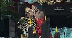 On s'aimera dans la mort (ℰżιℓι) Tags: psychobarbie pulse salt conviction cx leluck appearance avatar bento catwa diadelmuertos fashion gothic halloween maitreya messiahxshi roses secondlife skeleton skull stealthic swallow apparel