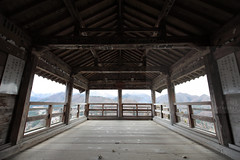 Godaido (Elios.k) Tags: horizontal outdoors nopeople godaido hall wideangle wood woodenstructure roof observationdeck mountain mountainrange view landscape background vistapoint sky cloud cloudy weather colour color travel travelling vacation canon 5dmkii camera photography december 2017 winter yamadera temple risshakuji shinto tendai buddhism yamagata yamagataprefecture tōhokuregion tohoku honsu asia japan