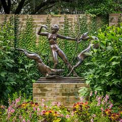 Another (dayman1776) Tags: sculpture sculptor sculptures statue skulptur escultura sony a6000 diana goddess roman greek nature hunt nude bronze brookgreen gardens dogs hounds south carolina