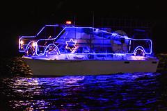 Dancin Bear- (Christmas Ships Parade) Tags: 2017 christmasshipsparade columbiariver december holiday portlandoregon ships willametteriver boat captain captains lights tradition portland oregon usa