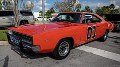 20180923 5DIV Cars & Coffee Palm Beach 15 (James Scott S) Tags: auto automobile cars exotic sports vehicle canon 5div lrcc james scott s palm beach fl florida dodge charger general lee