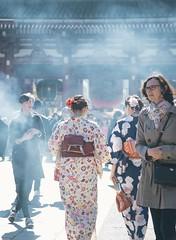 (Just Juls▲) Tags: tokyo asia japan people smoke street photography travel temple canon 6dmarkii