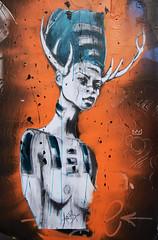 Kristx (HBA_JIJO) Tags: streetart urban graffiti paris art france hbajijo wall mur painting collage peinture pasteup paper urbain papier kristx