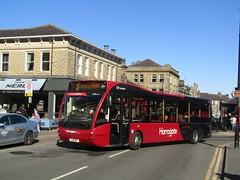 Harrogate Bus Co 210 YJ12MZT Station Parade, Harrogate on 3 (1280x960) (dearingbuspix) Tags: transdev harrogatebuscompany transdevharrogatebuscompany 210 yj12mzt harrogateconnect