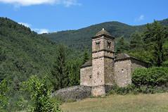 Ermita de San Bartolomé (ajmtster) Tags: iglesias ermitas monumentos romanico pirineo serrablo historia sanbartolomé valledetena gavin