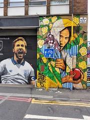 Hurry up 'Arry (Yorkie Chris) Tags: shoreditch london graffiti harrykane streetart mural lovelondon