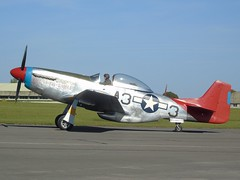 """G-SIJJ NA P51D Mustang (c/n 122-31894) """"Tall in the Saddle"""" 44-72035 Kemble (andrewt242) Tags: gsijj na p51d mustang cn 12231894 tallinthesaddle 4472035 kemble"""