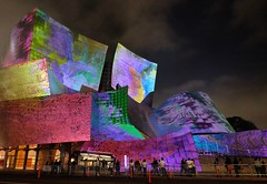 "WDCH - Walt Disney Concert Hall ""Dreams"" (JCD Images) Tags: wdch waltdisneyconcerthall laphil100 centennial 100years losangeles california usa artist refikanadol dream mind memories consciousness projection visuals images ideas"