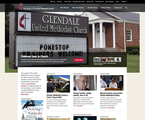 Pokemon welcome at Glendale UMC featured on UMC.org | Glendale United Methodist Church - Nashville Sign