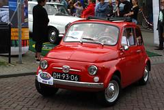 1966 Fiat 500 F (rvandermaar) Tags: 1966 fiat 500 l fiat500 cinquecento fiatcinquecento sidecode1 import dh9306