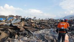 Ganze Ortsteile sind vollständig zerstört (Caritas international) Tags: katastrophe seebebentsunami erdbeben zerstörung palu indonesien idn