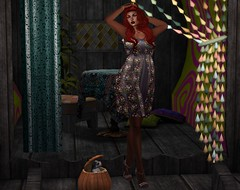 Black Magic Woman (♪♫ The Songstress, Miss M ♫♪) Tags: felinefinefashions sweetly secondlifefashion bettyquirky starrynightnails iconichair pumpkinpupper jian blogpost