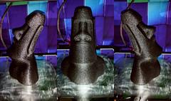 199mm Moai Statue (Hawk 1966) Tags: moai easter island easterisland 3d printing maker creality cr10s hatchbox filament florida brevard palmbay