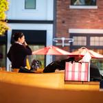 Victoria's Secret Shopping Bag on Table thumbnail
