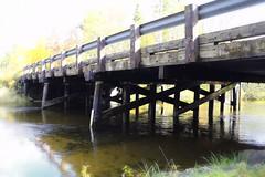 9  Mile Bridge (Steve InMichigan) Tags: littlemanisteeriver bridge river water 9milebridge michigan