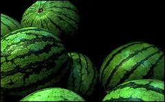 (Cliff Michaels) Tags: iphone8 photoshop pse9 flowers kroger melons