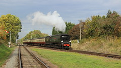 Approaching Quorn (Duck 1966) Tags: cityofwells 34092 gcr timelineevents steam train bulleid pacific