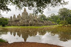 Bayon (patoche21) Tags: arbre asie asiedusudest angkor cambodge culturel flore monument nature patrimoine paysage plante siemrep voyages lac reflet temple patrickbouchenard cambodia travel trip asia southeastasia